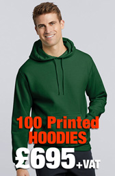 100 x Gildan Heavy Blend™ Hooded Sweatshirt