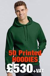 50 x Gildan Heavy Blend™ Hooded Sweatshirt