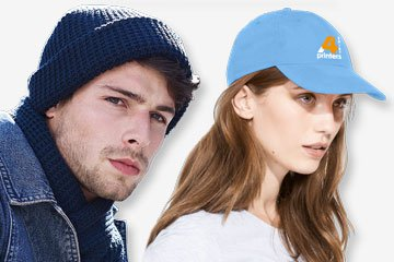 Caps & hats for promotional printing