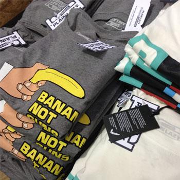 photo of Plain Lazy t-shirt print